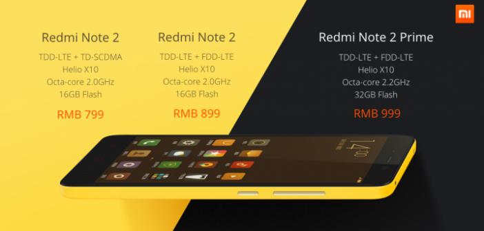 Xiaomi passe à MIUI 7 et annonce le nouveau redmi note 2