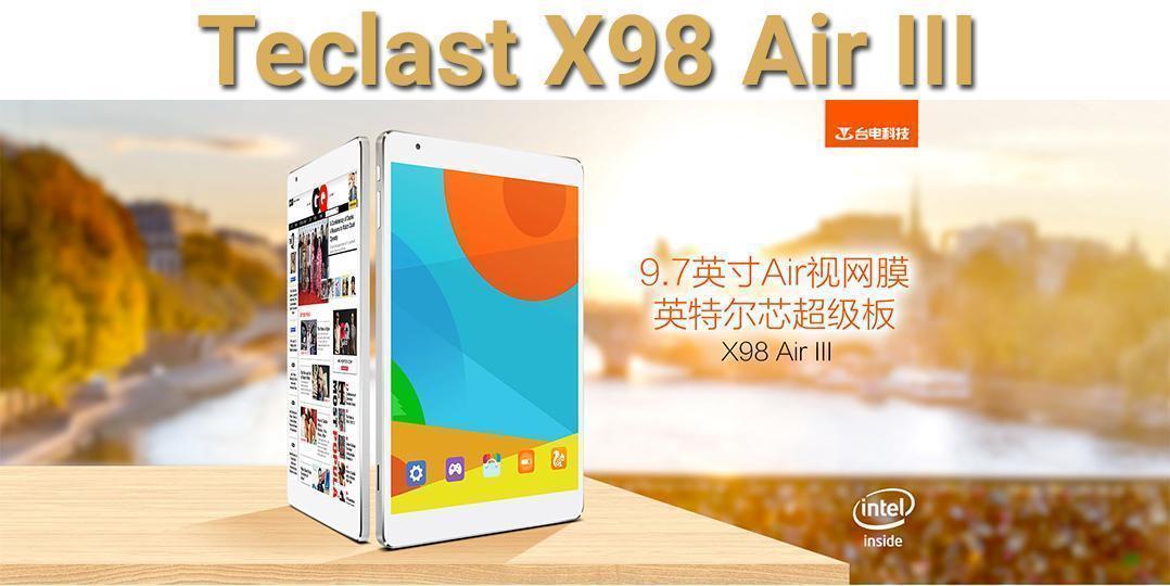 Teclast x98 air iii une tablette r tina petit prix - Tablette a petit prix ...