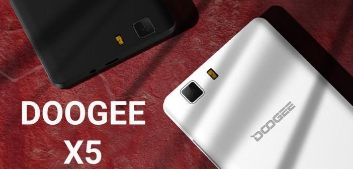 Doogee X5 : un smartphone qui mérite que l'on s'intéresse à lui!