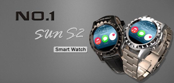 No.1 SUN S2 : La montre connectée Petit prix / Grande puissance.