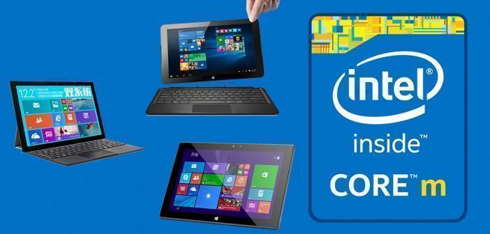 Intel Core M : le point sur les tablettes chinoises disponibles
