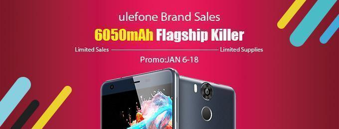 Promotion Ulefone Gearbest