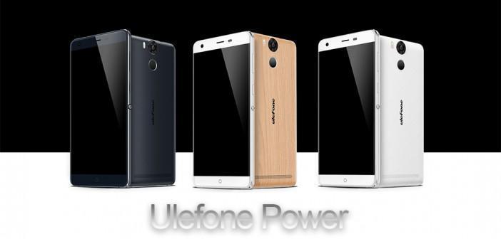 Ulefone Power Prsie en Main