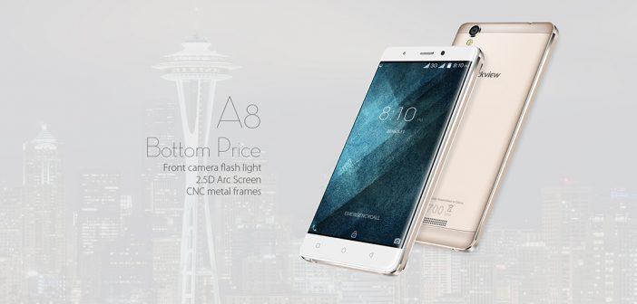 Blackview A8, un smartphone 3G à 50 euros !