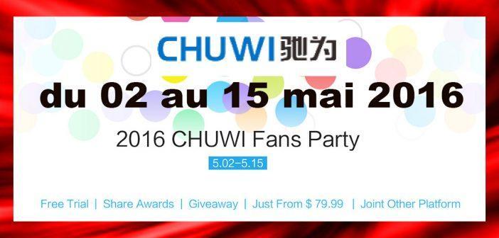 Evénement Chuwi