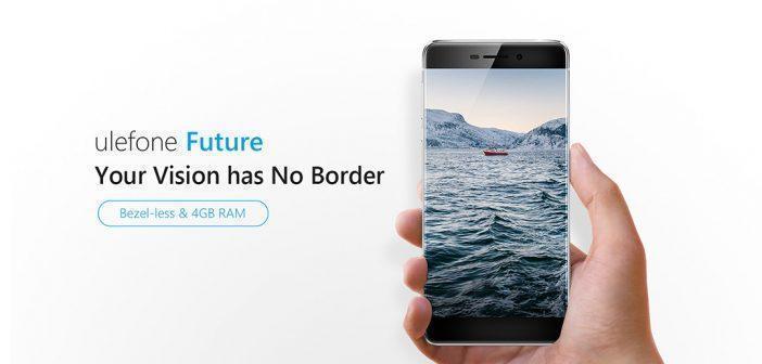 Ulefone Future, smartphone sans bordures : caractéristiques et prix [MAJ]