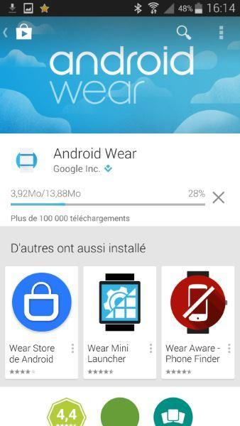 Android Wear Application