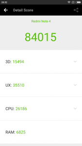 Xiaomi Redmi Note 4 Benchmarks