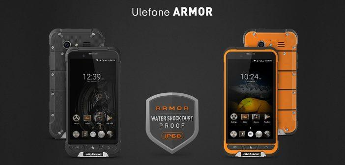 Ulefone Armor, certifié IP68 : caractéristiques, prix et disponibilité