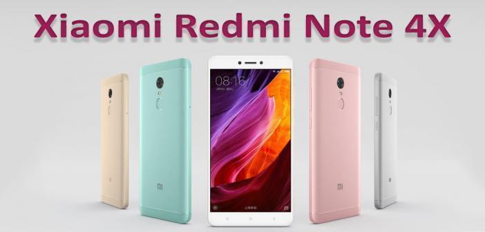 Xiaomi Redmi Note 4X : caractéristiques, prix et disponibilité