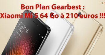 Xiaomi Mi 5 Bon Plan