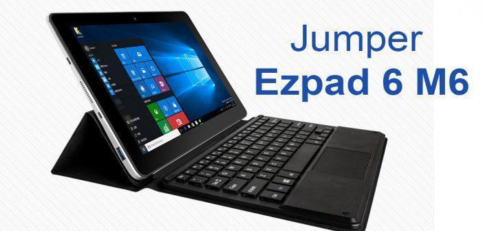 Jumper Ezpad 6 M6, quelques tests