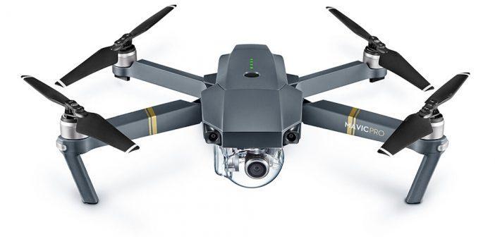 Drone quadcopter pliable DJI Mavic Pro avec appareil photo et système d'affichage en direct