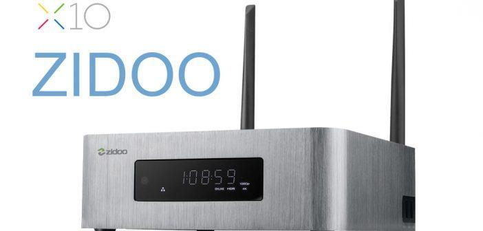 Zidoo x10, Media Center ultime