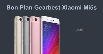 Bon Plan Xiaomi Mi5s chez Gearbest à moins de 200 euros