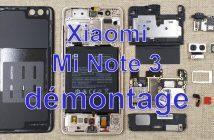 XIaomi Mi Note 3 Démontage