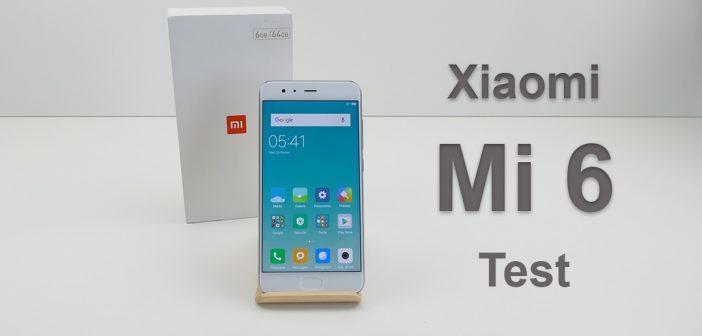 Xiaomi Mi 6 test et prise en main