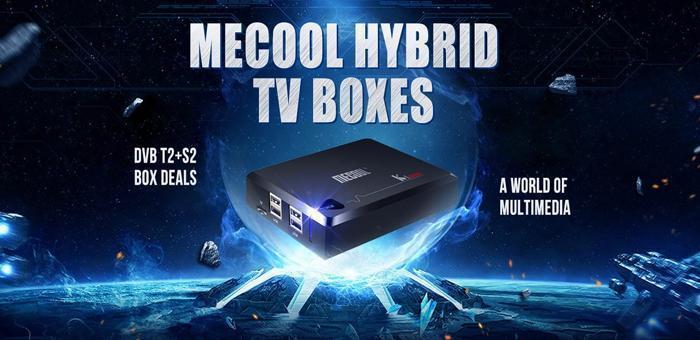 Les Box TV Mecool chez Gearbest