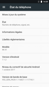 Xiaomi Mi A1 Android