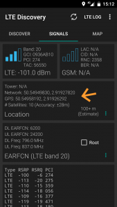 Xiaomi Mi A1 Réseau