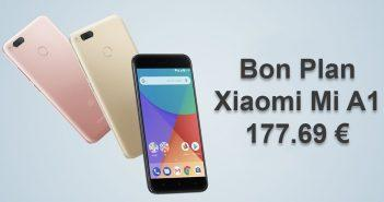 Alerte Bon Plan Xiaomi Mi A1
