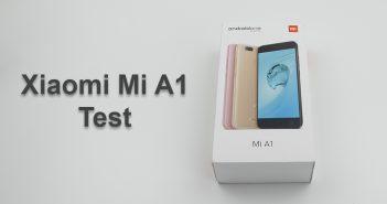 Test du Xiaomi Mi A1