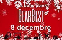 Bons plans chez Gearbest pour le 8 décembre