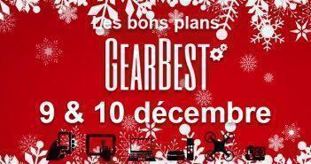 Bons plans chez Gearbest pour les 9 & 10 décembre