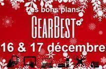 Bons plans chez Gearbest pour les 16 et 17 décembre