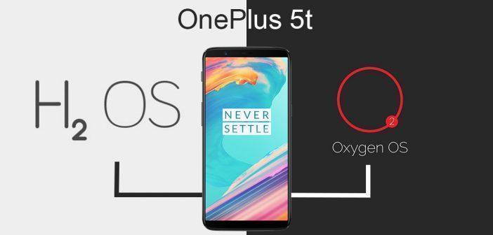 OnePlus 5t installation OxygenOS sur une version chinoise