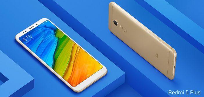 Xiaomi Redmi 5 Plus : écran 6 pouces 18:9 et Snapdragon 625