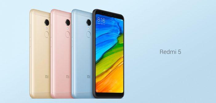 Xiaomi Redmi 5 : écran 18:9, Snapdragon 450 pour à peine plus de 100 €