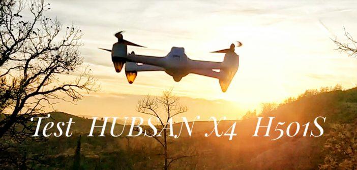 Hubsan H501S X4 FPV drone brushless avec Caméra HD 1080P.