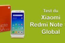 Test du Xiaomi Redmi Note 5A Global