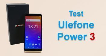 Test de l'Ulefone Power 3