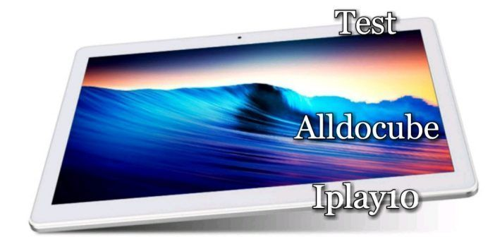 Alldocube iplay10 test avis review