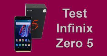 Test du Infinix Zero 5