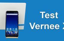 Test du Vernee X