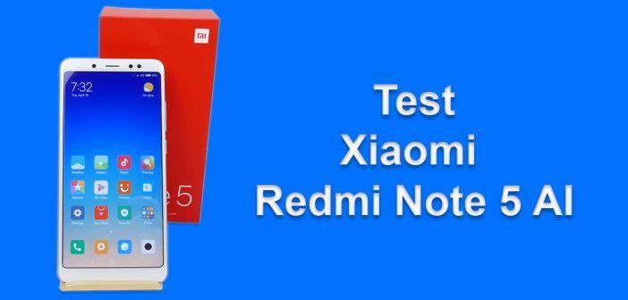 Test du Xiaomi Redmi Note 5 AI
