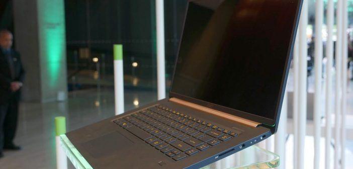 Acer Swift 5 le portable 15 pouces le plus léger du monde