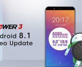Ulefone Power 3 : mise à jour vers Android 8.1 Oreo imminente