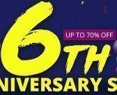 Geekbuying : les promotions EXCEPTIONNELLES du 6 ème anniversaire !