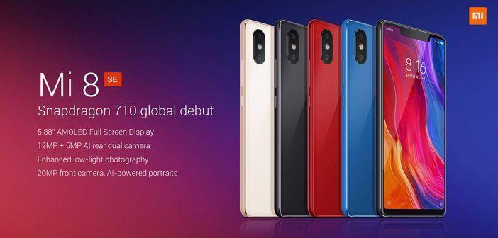 Xiaomi Mi 8 SE : moins grand, moins puissant mais plus abordable