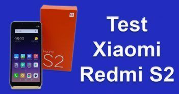 Test du Xiaomi Redmi S2