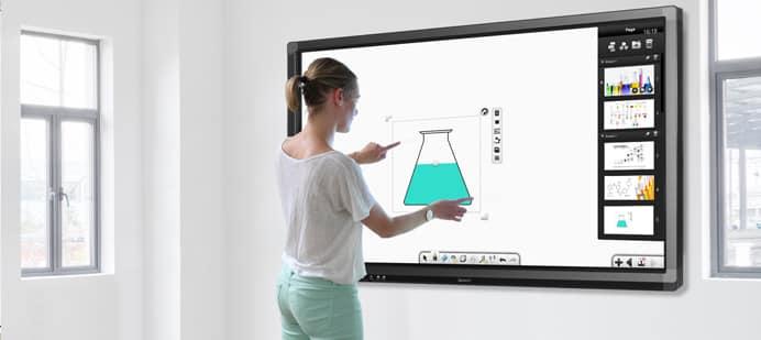 écran interactif Android : tablette tactile géante