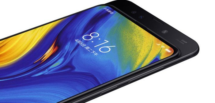 Xiaomi Mi Mix 3 disponible en Europe