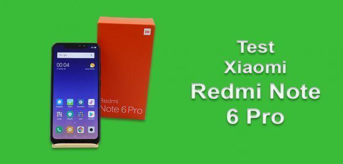 Test du Xiaomi Redmi Note 6 Pro