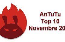AnTuTu Top 10 Novembre 2018