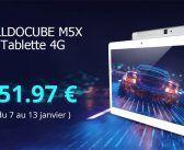 ALLDOCUBE M5X en vente flash à 152 € : 4G avec B20, 4+64 Go, 10.1 pouces, Helio X27, Android 8