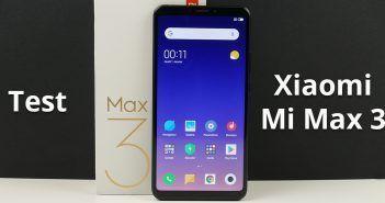 Test du Xiaomi Mi Max 3